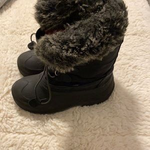 Kamik Youth Winter Boots Size 3 Black